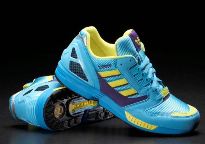 Adidas Torsion Zx 8000 Hellblau